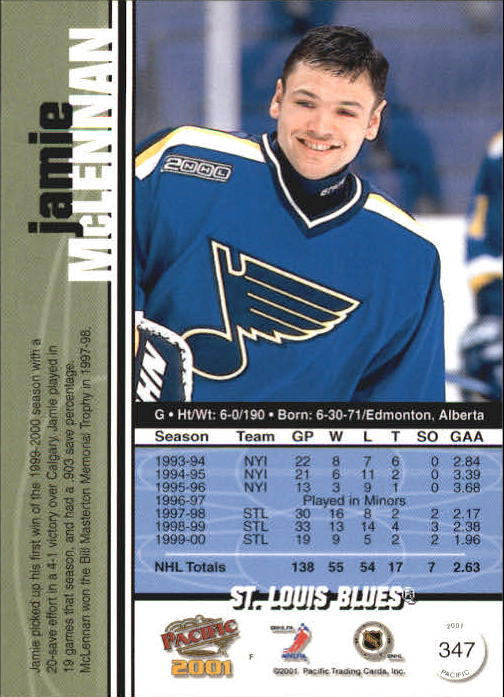 2000-01-Pacific-Hockey-Cards-251-450-Pick-From-List thumbnail 129