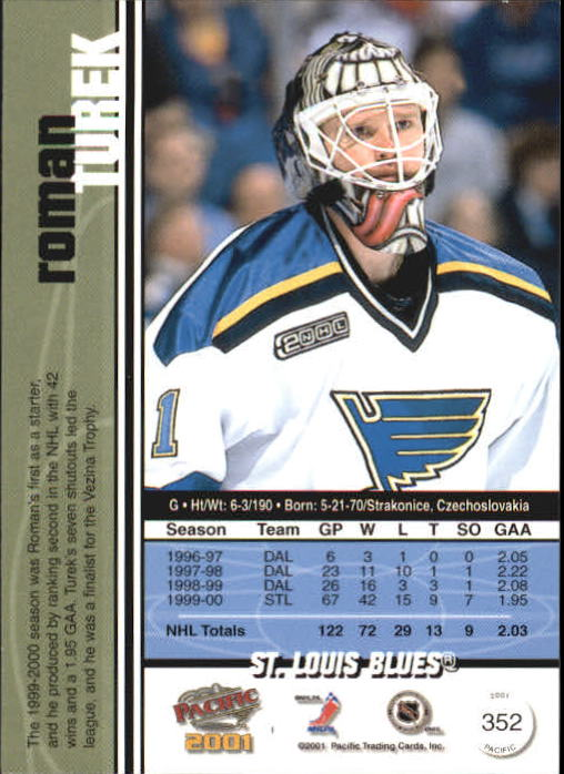 2000-01-Pacific-Hockey-Cards-251-450-Pick-From-List thumbnail 137
