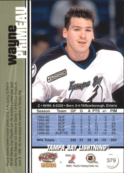 2000-01-Pacific-Hockey-Cards-251-450-Pick-From-List thumbnail 177