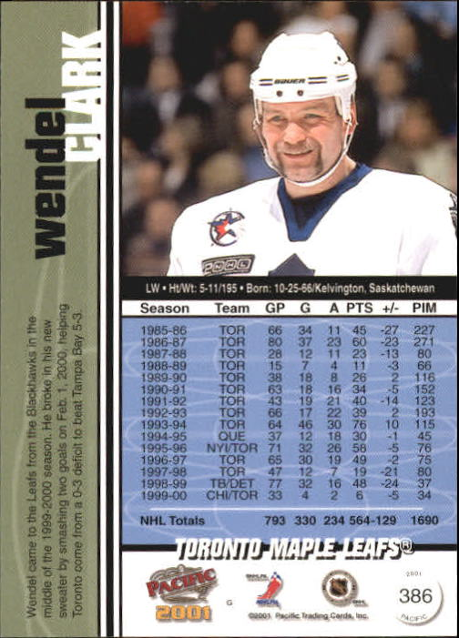 2000-01-Pacific-Hockey-Cards-251-450-Pick-From-List thumbnail 185