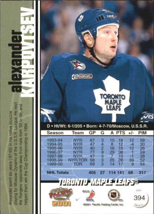 2000-01-Pacific-Hockey-Cards-251-450-Pick-From-List thumbnail 195