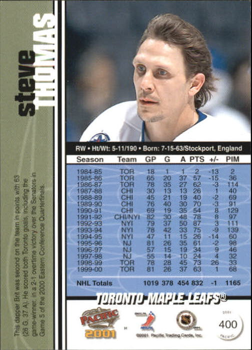 2000-01-Pacific-Hockey-Cards-251-450-Pick-From-List thumbnail 205