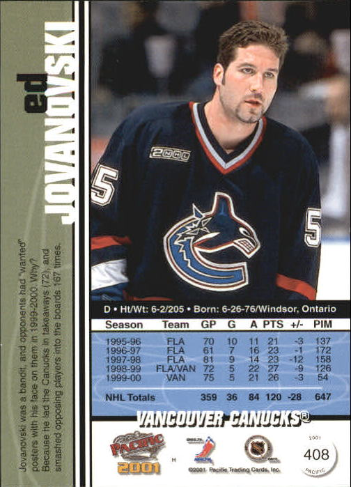2000-01-Pacific-Hockey-Cards-251-450-Pick-From-List thumbnail 215
