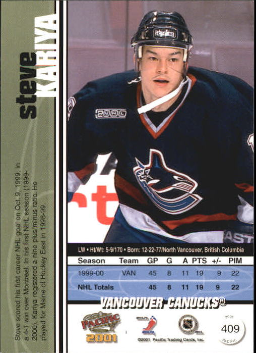 2000-01-Pacific-Hockey-Cards-251-450-Pick-From-List thumbnail 217