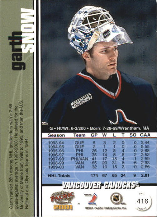 2000-01-Pacific-Hockey-Cards-251-450-Pick-From-List thumbnail 227