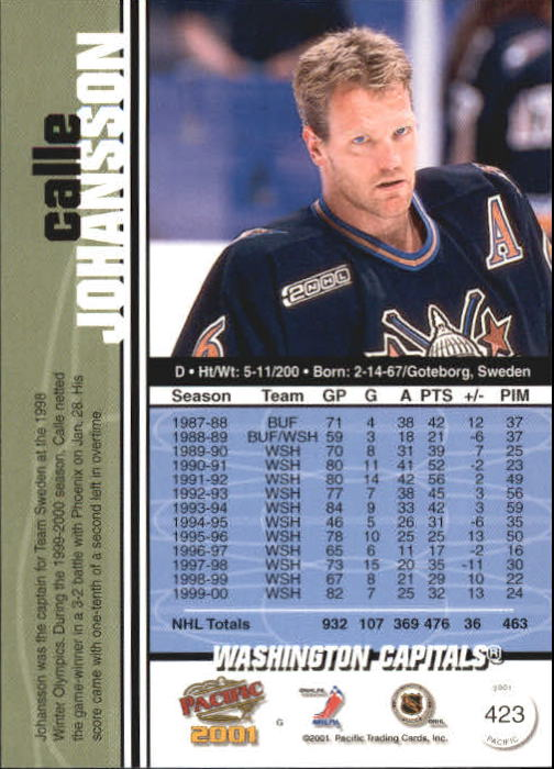 2000-01-Pacific-Hockey-Cards-251-450-Pick-From-List thumbnail 235