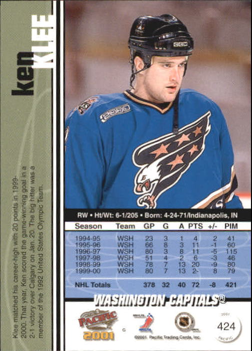2000-01-Pacific-Hockey-Cards-251-450-Pick-From-List thumbnail 237