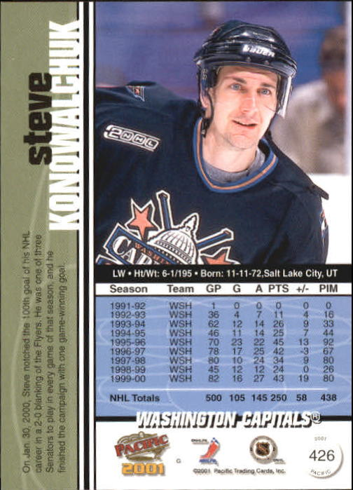 2000-01-Pacific-Hockey-Cards-251-450-Pick-From-List thumbnail 241