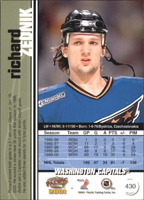 2000-01-Pacific-Hockey-Cards-251-450-Pick-From-List thumbnail 249