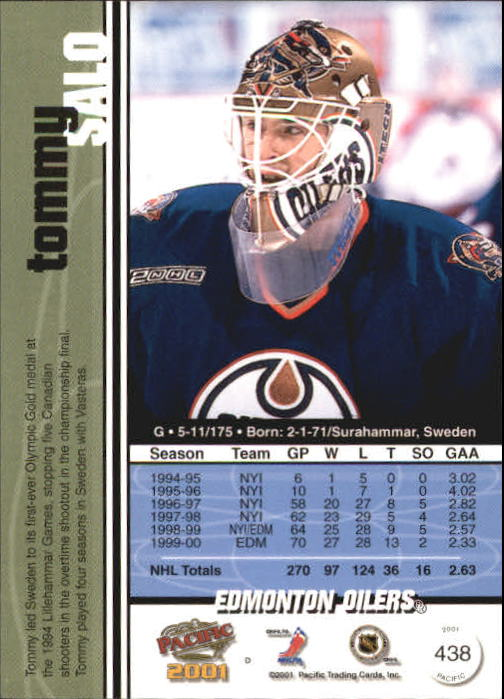 2000-01-Pacific-Hockey-Cards-251-450-Pick-From-List thumbnail 261