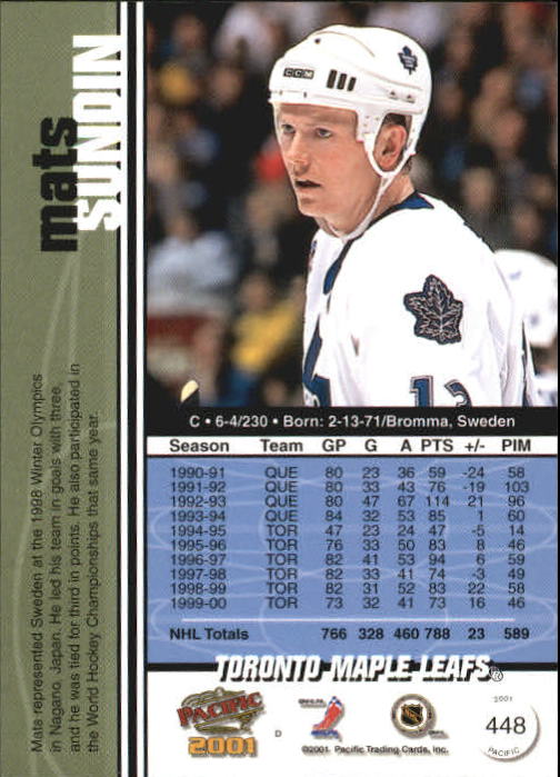 2000-01-Pacific-Hockey-Cards-251-450-Pick-From-List thumbnail 277