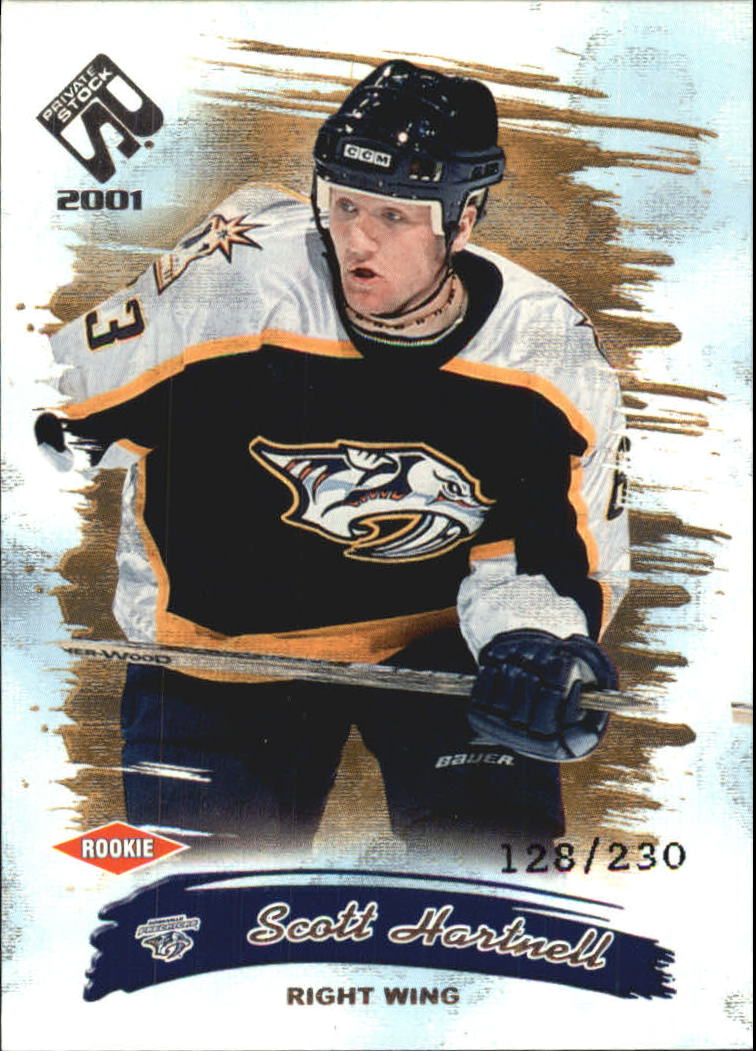 2000-01 Private Stock Retail #129 Scott Hartnell RC