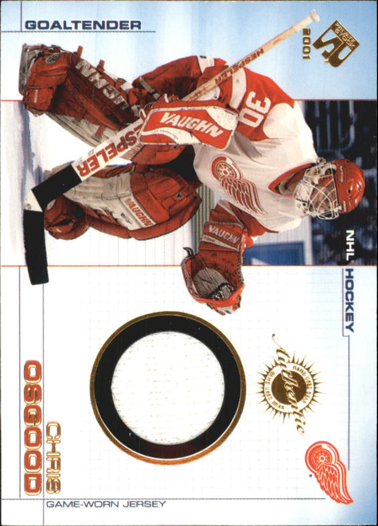 2000-01 Private Stock Game Gear #46 Chris Osgood J