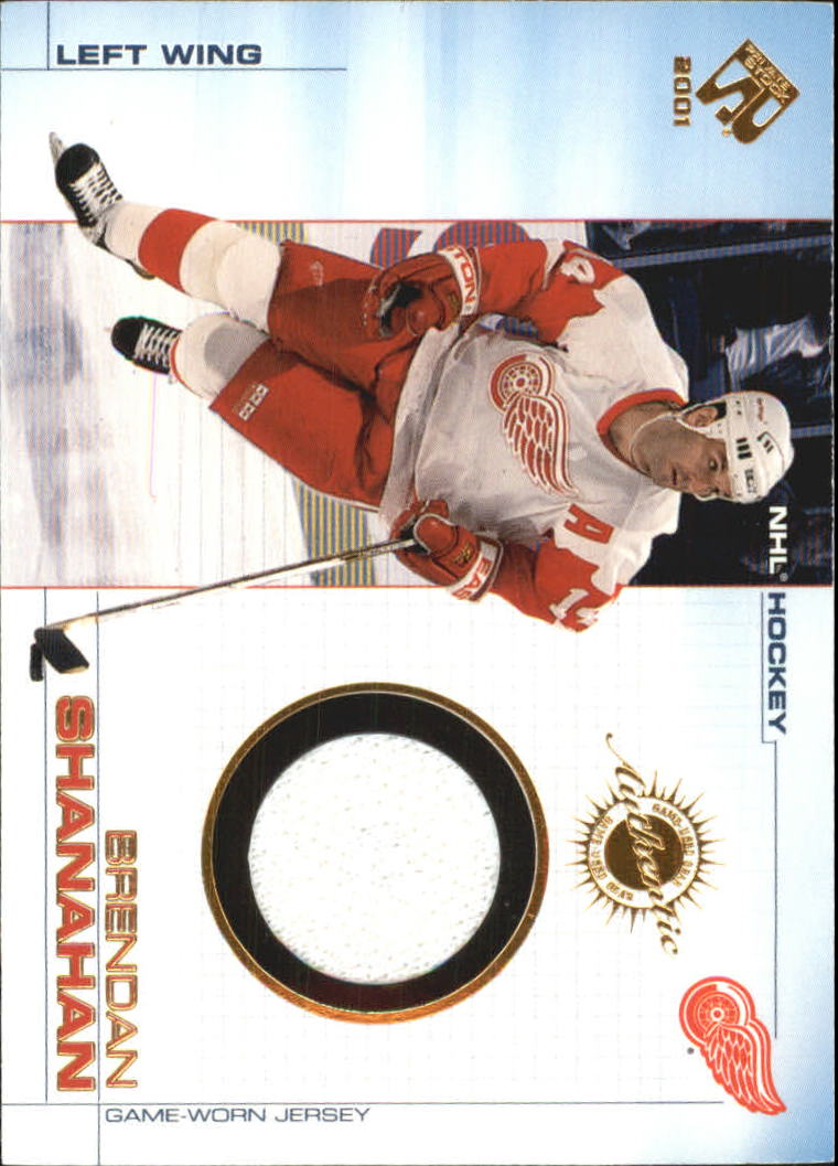 2000-01 Private Stock Game Gear #47 Brendan Shanahan J