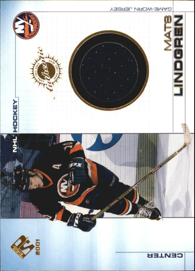 2000-01 Private Stock Game Gear #71 Mats Lindgren J