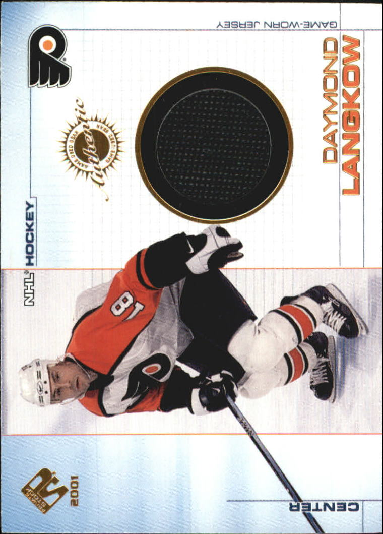 2000-01 Private Stock Game Gear #82 Daymond Langkow J