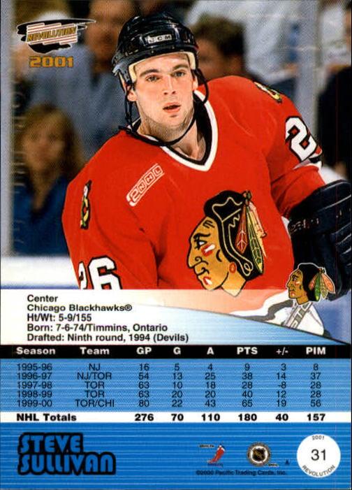 2000-01-Revolution-Hockey-1-150-Your-Choice-GOTBASEBALLCARDS thumbnail 27