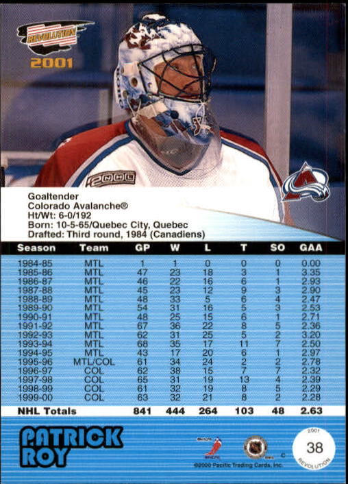 2000-01-Revolution-Hockey-1-150-Your-Choice-GOTBASEBALLCARDS thumbnail 35