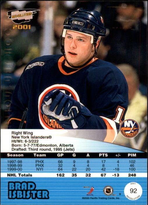 2000-01-Revolution-Hockey-1-150-Your-Choice-GOTBASEBALLCARDS thumbnail 85
