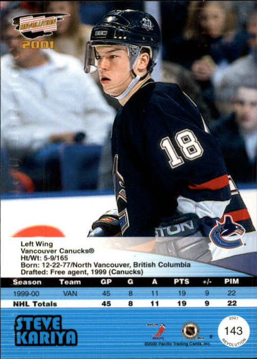 2000-01-Revolution-Hockey-1-150-Your-Choice-GOTBASEBALLCARDS thumbnail 137