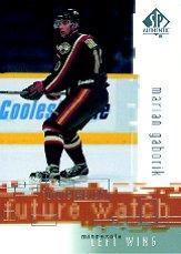 2000-01 SP Authentic #110 Marian Gaborik RC
