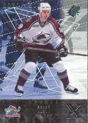 2000-01 SPx #95 Serge Aubin RC