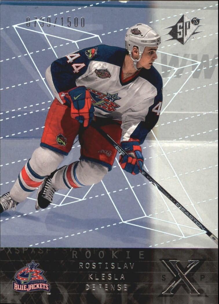 2000-01 SPx #158 Rostislav Klesla RC