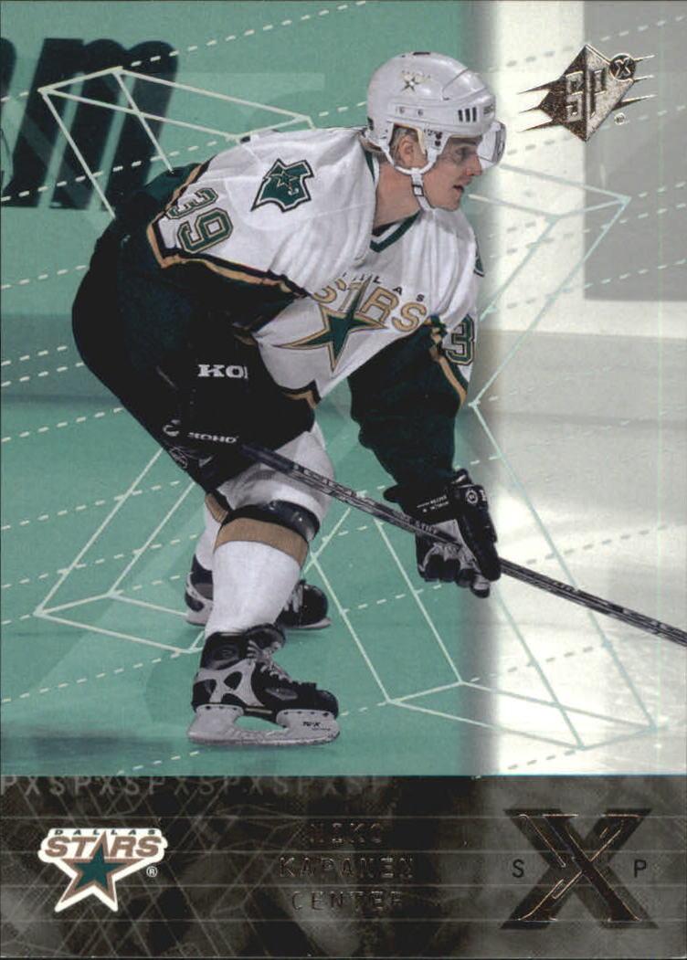 2000-01 SPx Rookie Redemption #RR10 Niko Kapanen