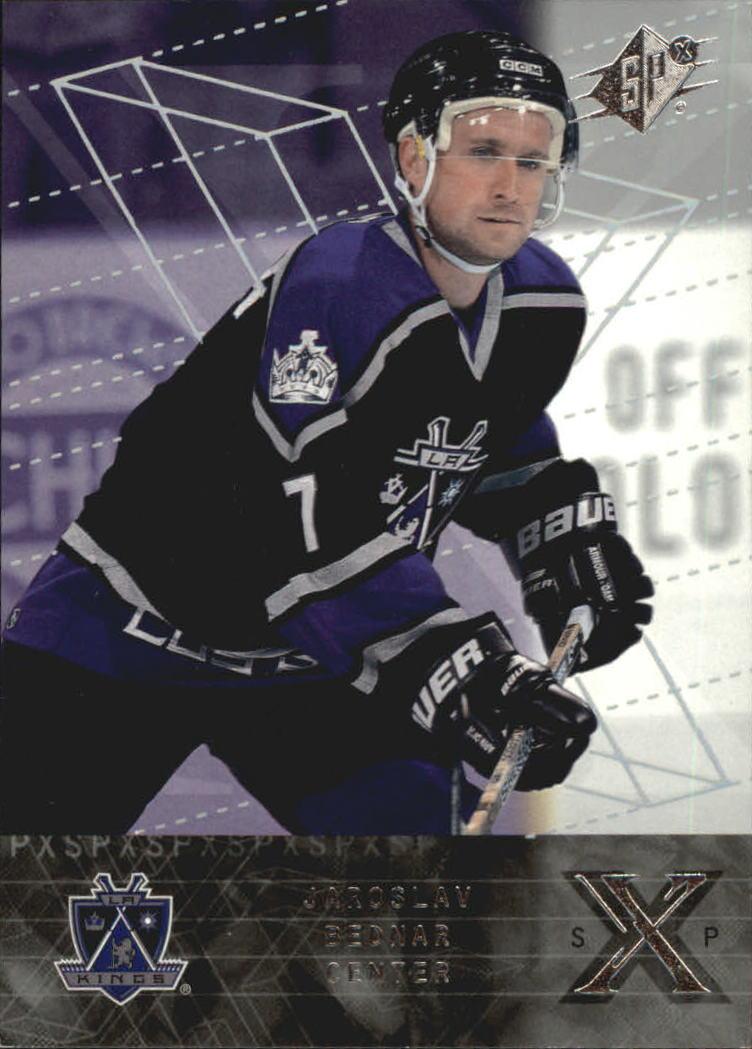 2000-01 SPx Rookie Redemption #RR14 Jaroslav Bednar