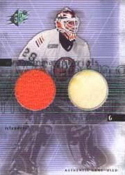 2000-01 SPx Winning Materials #FP Felix Potvin