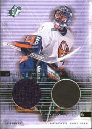 2000-01 SPx Winning Materials #WLU Roberto Luongo Upd