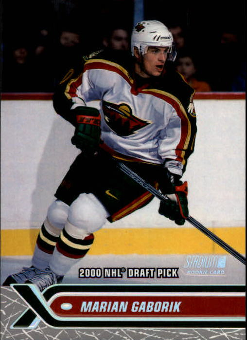 2000-01 Stadium Club #241 Marian Gaborik RC