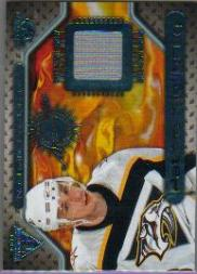 2000-01 Titanium Game Gear #103 Patric Kjellberg
