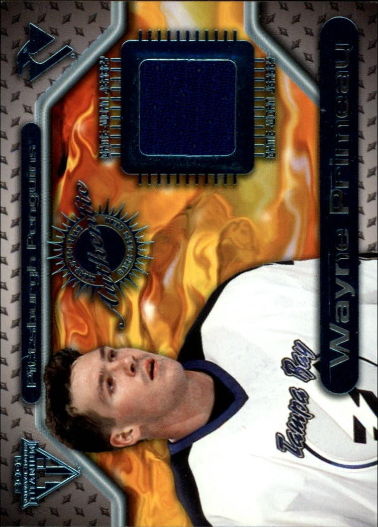 2000-01 Titanium Game Gear #139 Wayne Primeau