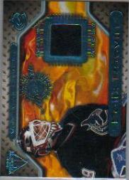 2000-01 Titanium Game Gear #149 Felix Potvin