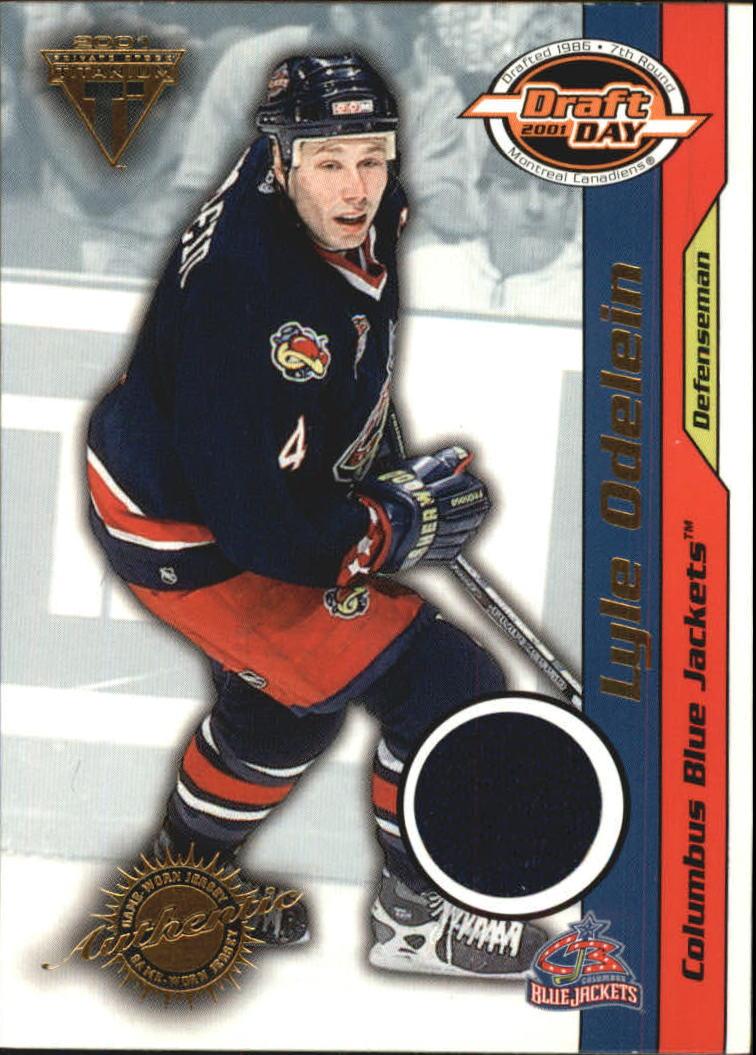 2000-01 Titanium Draft Day Edition #27 Lyle Odelein/535