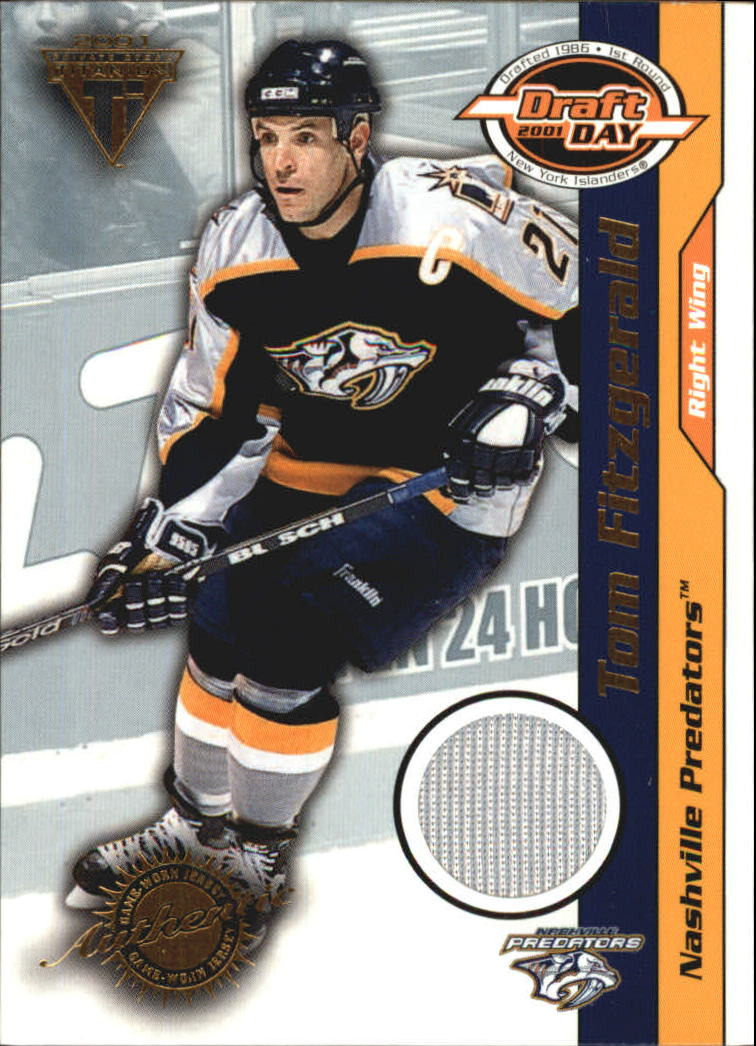 2000-01 Titanium Draft Day Edition #53 Tom Fitzgerald/520