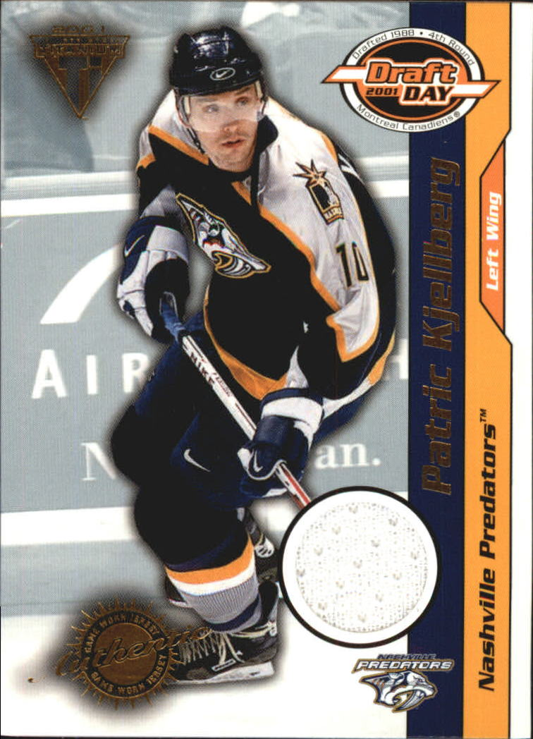 2000-01 Titanium Draft Day Edition #54 Patric Kjellberg/520
