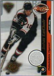2000-01 Titanium Draft Day Edition #73 John LeClair/520
