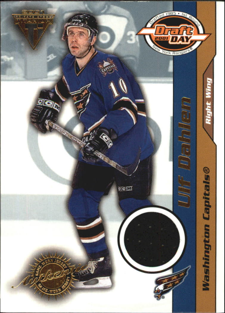 2000-01 Titanium Draft Day Edition #99 Ulf Dahlen/535