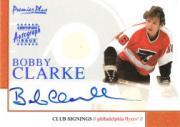 2000-01 Topps Premier Plus Club Signings #CS4 Bobby Clarke