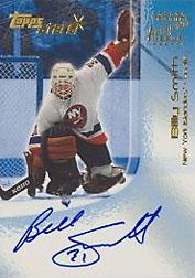 2000-01 Topps Stars Autographs #ABSM Billy Smith