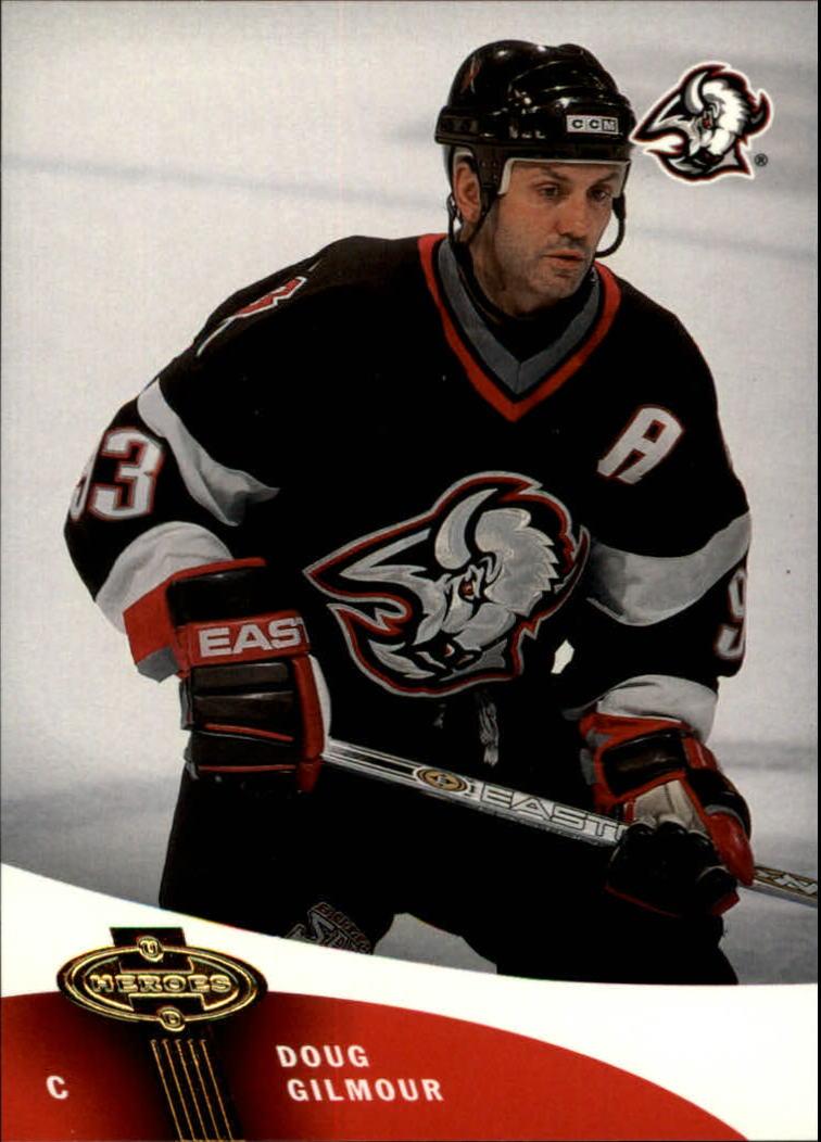 2000-01 Upper Deck Heroes #14 Doug Gilmour