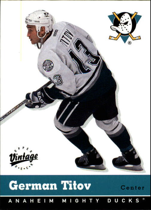 2000-01 Upper Deck Vintage #1 German Titov
