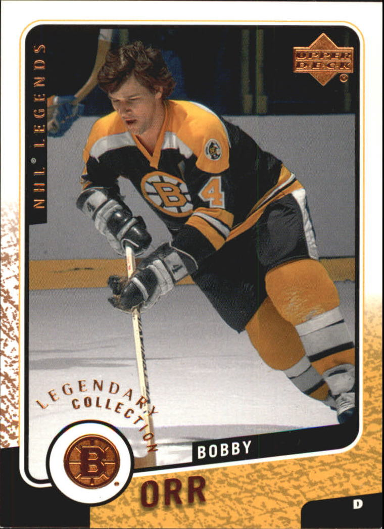 2000-01 Upper Deck Legends Legendary Collection Bronze #6 Bobby Orr