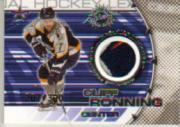 2000-01 Vanguard Dual Game-Worn Patches #11 Cliff Ronning/Vitali Yachmenev/300