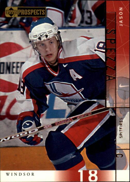 2000-01 UD CHL Prospects #11 Jason Spezza