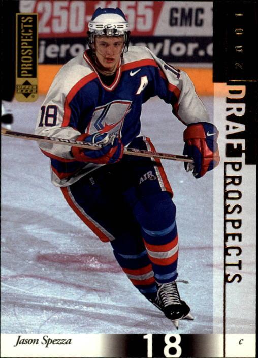 2000-01 UD CHL Prospects #89 Jason Spezza