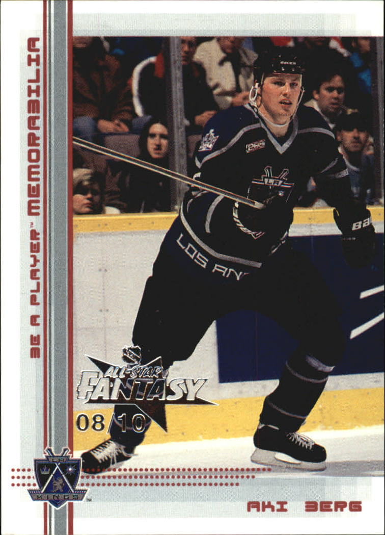 2000-01 BAP Memorabilia NHL All-Star Fantasy Ruby #309 Aki Berg