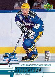 2000-01 German DEL Upper Deck #217 Vadym Slivchenko